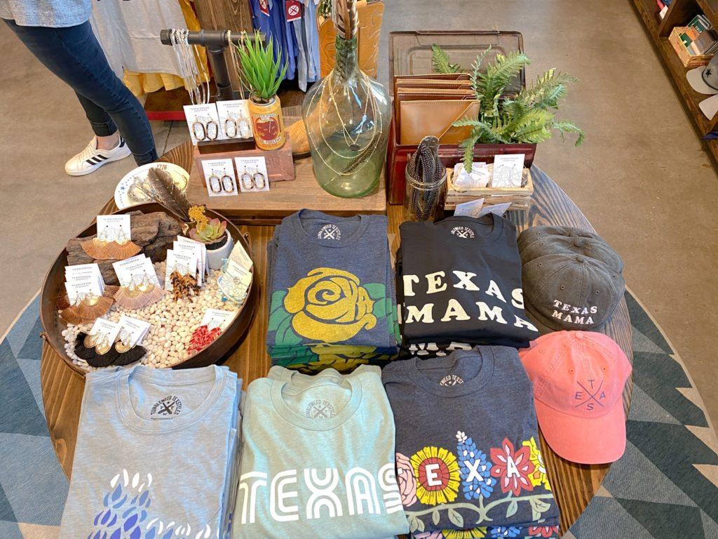 Tumbleweed Texstyles display.